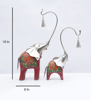 Buy Artisan Crafted wooden Elephant with Bell Figurine from Decorlake