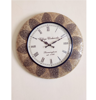 """Vintage Brass Fitted 18"""" Analog Designer Wall Clock By Decorlake"""