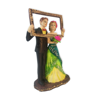 Shop online Buy Online Newly Married Couple Statue Posing for Selfie
