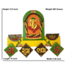 Buy Online Decorative Lord Ganesh Shubh Labh Wall Hanging by Decorlake