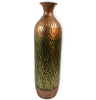Copper Metallic Cylindrical Table Vase for Indoor decor