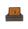 Traditional wooden tea Coaster with beautiful elephant painting