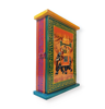 Beautiful Wooden key hander box with royal elephant of Indian King and His President