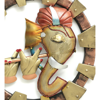 Lord Ganesh Playing Flute Wall hanging