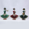 Dancing Lady Playing musical Instrument figurine